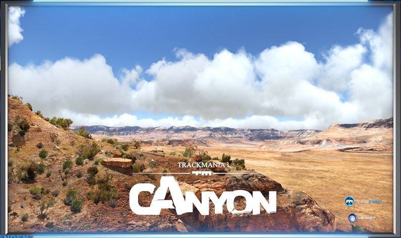 Unser Canyon Server, bei Trackmania2